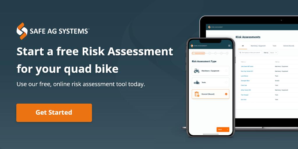 Risk Assessment - quad bike